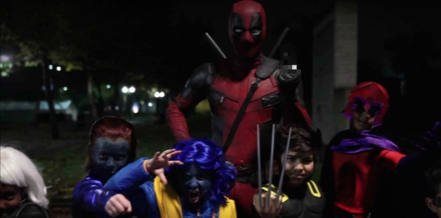 Check out a new Deadpool Halloween video!