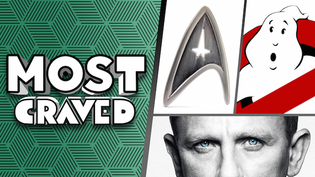 On the newest episode of Most Craved, we're talking about the new Star Trek series, SPECTRE and more!