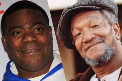 Tracy Morgan will play Redd Foxx in the an upcoming project.