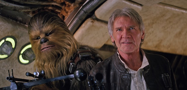 The Force Awakens is the most anticipated of the Harrison Ford movies.