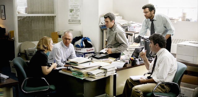 Check out five different clips from Tom McCarthy's Spotlight movie.