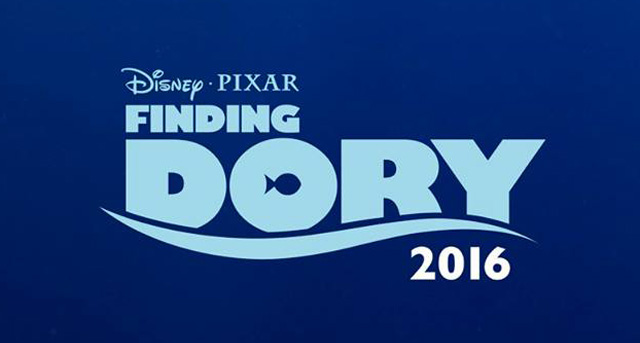 She Just Kept Swimming in the Finding Dory Poster!