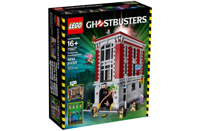 Go Inside the LEGO Ghostbusters Firehouse Headquarters Set.