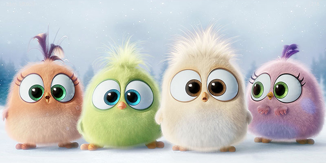 The Angry Birds Movie Introduces the Adorable Hatchlings.
