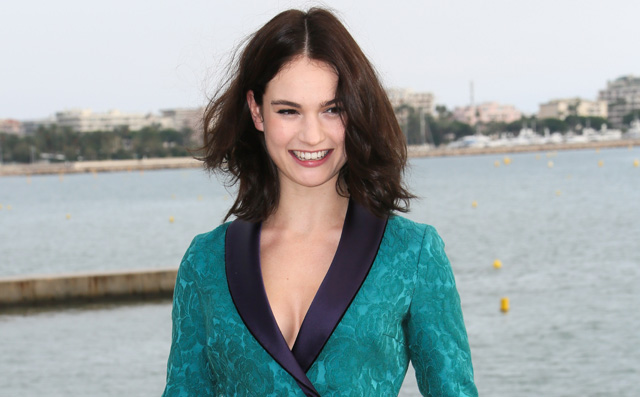Lily James to Star in Young Woman and the Sea