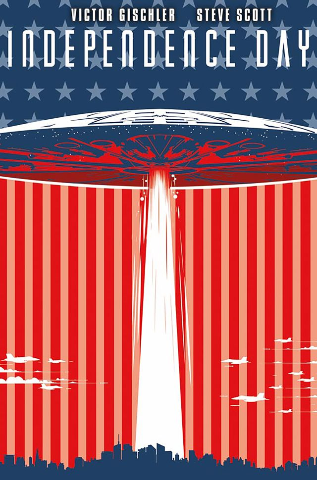 Covers Revealed for Independence Day Tie-In Comic.
