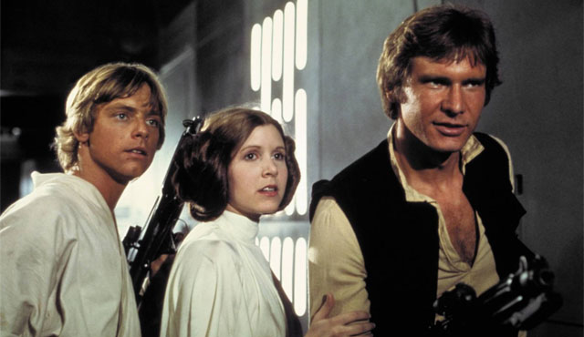 Of course, Star Wars is quite arguably the best known of all the Carrie Fisher movies.