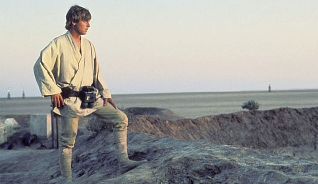 The Mark Hamill movies list begins with Star Wars!