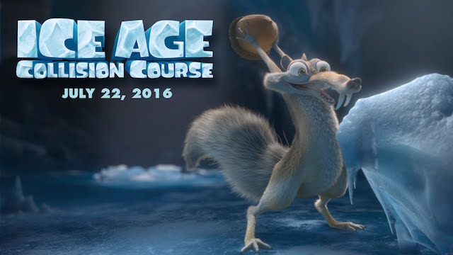 Watch the Ice Age: Collision Course trailer!