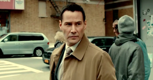Check out the Exposed trailer, starring Keanu Reeves!