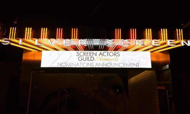 Nominations Announced for the 22nd Annual SAG Awards.