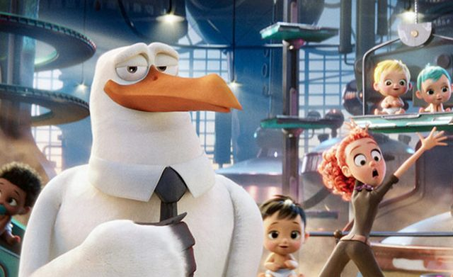 First Look at Warner Bros.' Storks Featuring Andy Samberg and Kelsey Grammer.