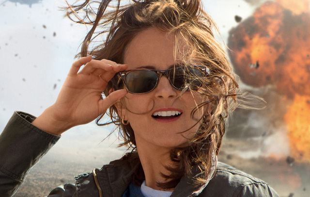 Tina Fey in the Whiskey Tango Foxtrot Trailer and Poster.