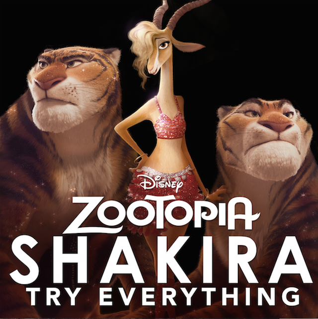 Zootopia Music Video Features a Lot of Shakira and New Footage