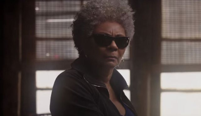 Blind Al is a Deadpool character that we'll be seeing on the big screen soon.