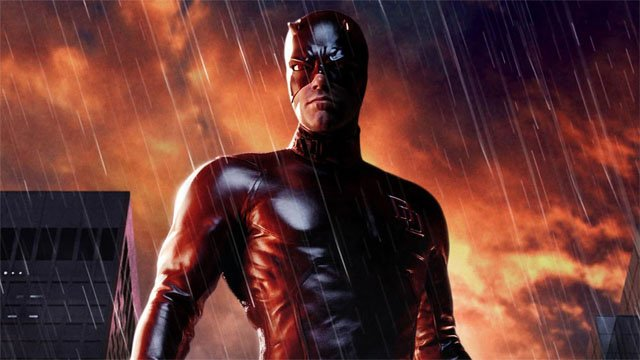 Daredevil is only the first of the Ben Affleck movies in which the star plays a superhero.