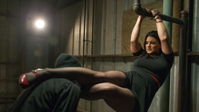 Extraction was one of the more recent Gina Carano movies.