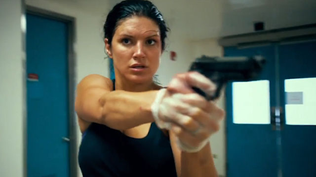 The Gina Carano movies list continues with In the Blood.