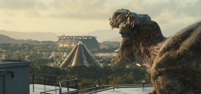Take a look at a cool Jurassic World visual effects reel.