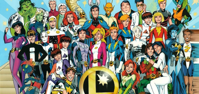 The Legion of Super-heroes will get a shout-out on an upcoming DC Comics tv series.