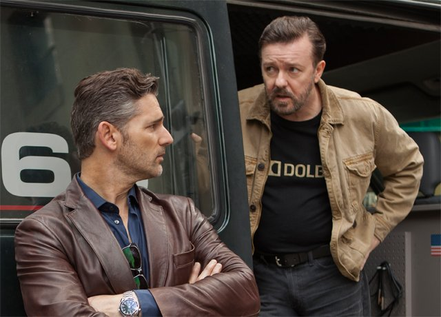 Ricky Gervais' Special Correspondents Gets Release Date & Stills from Netflix.
