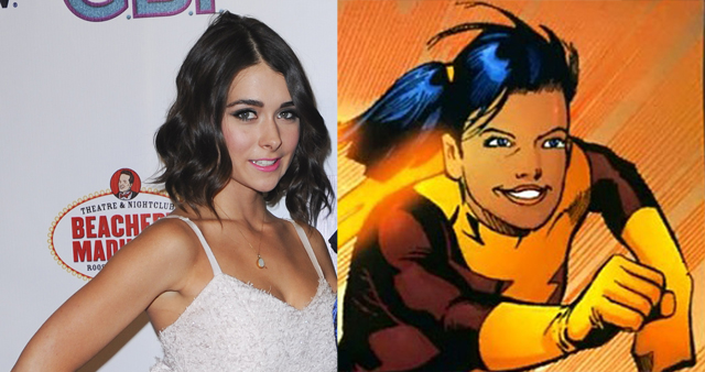 Allison Paige will play the speedster trajectory on an upcoming episode of The Flash.