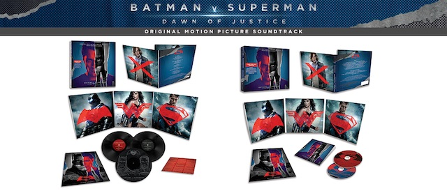 Listen to a preview of the Batman v Superman soundtrack!