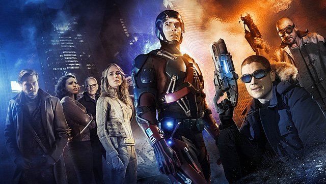 Time for a Prison Break in New DC's Legends of Tomorrow Photos!