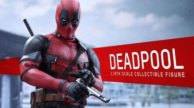 Hot Toys Deadpool Figure Has all the Sass of the Full Size Ryan Reynolds