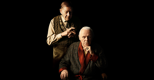Anthony Hopkins and Ian McKellen star together in The Dresser, coming to STARZ this summer.