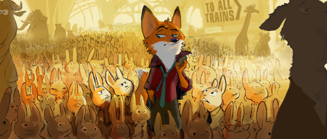 Enter Bunnyburrow in our Zootopia guide.