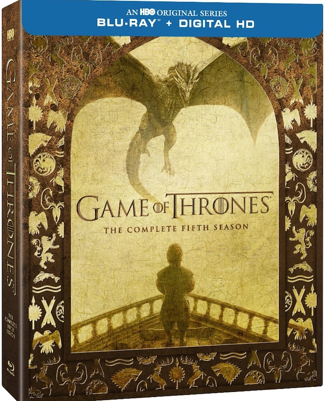 Take a look at the cover art for the Game of Thrones season 5 blu-ray.