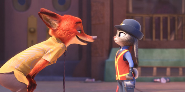Judy Hopps and Nick Wilde are in trouble in a new Zootopia clip.