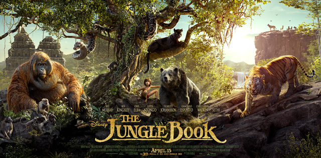 Disney Unveils The Jungle Book Triptych Poster.
