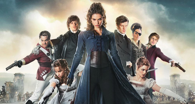 Extended Pride and Prejudice and Zombies Sneak Peek.