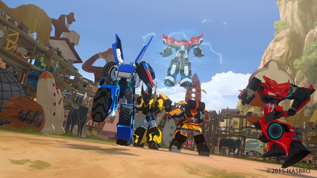 Transformers: Robots in Disguise Season Debuting in the First Quarter of 2016.
