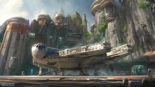 Harrison Ford to Preview Star Wars Lands Coming to Disney Parks.