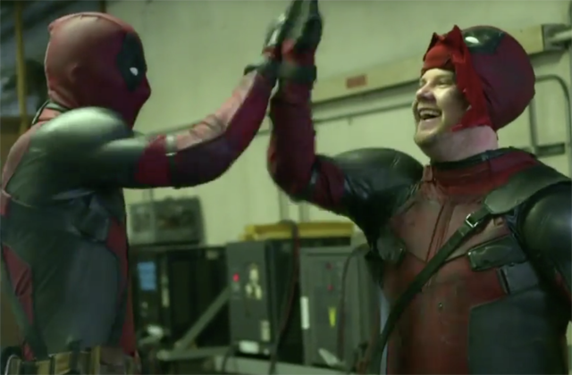 Deadpool Gets a Sidekick in the Form of James Corden.