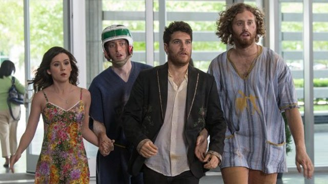 Search Party is a relatively unseen entry on the TJ Miller movies list.