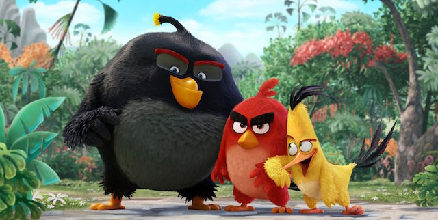 """CS gets a """"sneak beak"""" straight from The Angry Birds movie cast."""