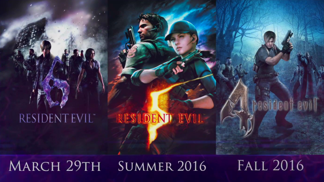 Resident Evil 4, 5 and 6 Coming to PlayStation 4 and Xbox One