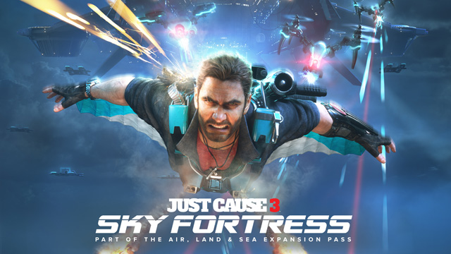 Welcome to the Sky Fortress in First Just Cause 3 DLC Trailer.