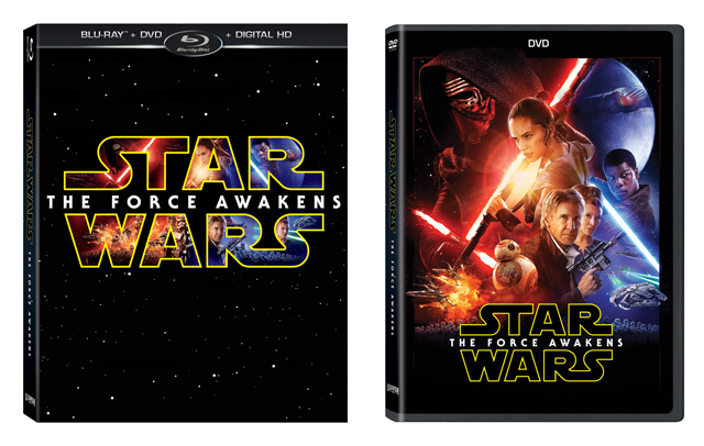 Star Wars: The Force Awakens Blu-ray and Digital Release Dates Announced