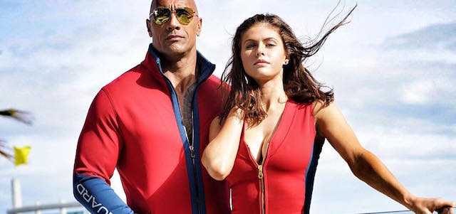 Check out the first Alexandra Daddario Baywatch photo!