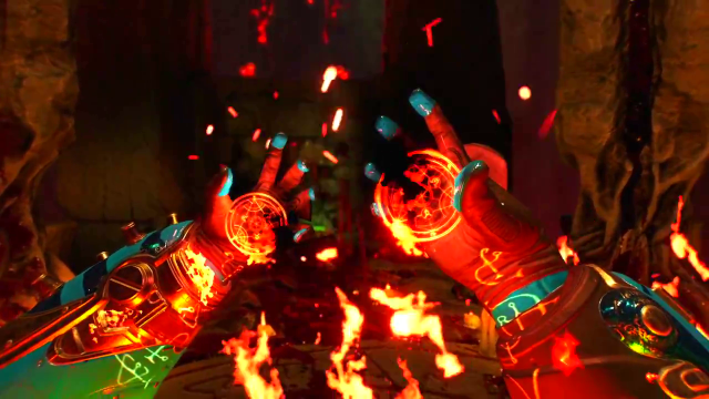 All Hell Breaks Loose in the DOOM Multiplayer Trailer