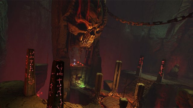 Take a Tour of Hell in the DOOM Multiplayer Maps