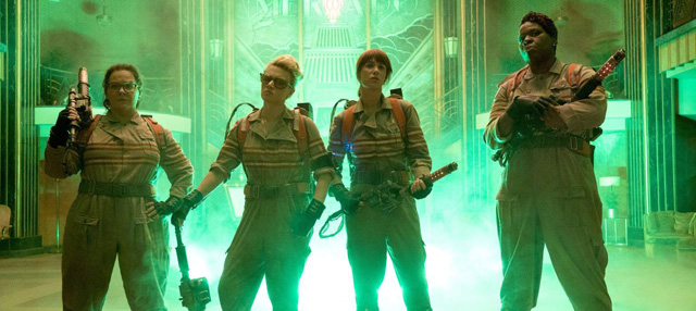 Meet the new team in the Ghostbusters trailer.