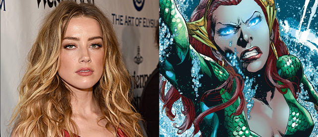 Amber Heard Talks Mera Costume in Aquaman