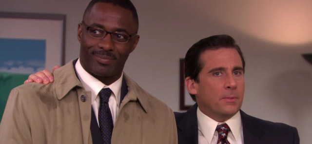 The Idris Elba movies and TV list includes the actor's role on The Office.