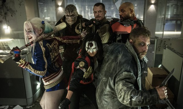 A Sweet Suicide Squad Poster Debuts, Along with Character Tattoos for SXSW
